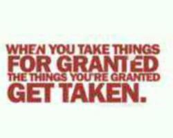 For granted - Get Taken