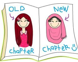 Old Chapter - New Chapter for Hijab.
