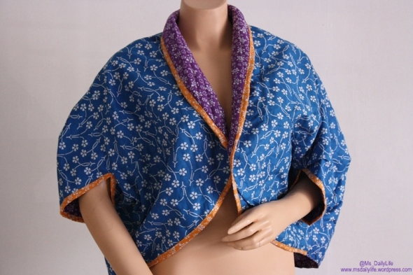 bolero batik