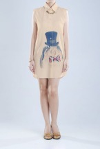 MS-CAP162 Mossi Brown Dress PRICE : RP 147.400