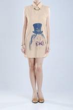 MS-CAP162 Mossi Brown Dress PRICE : RP 147.400