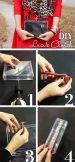 How to make DIY Transparent Clutch.