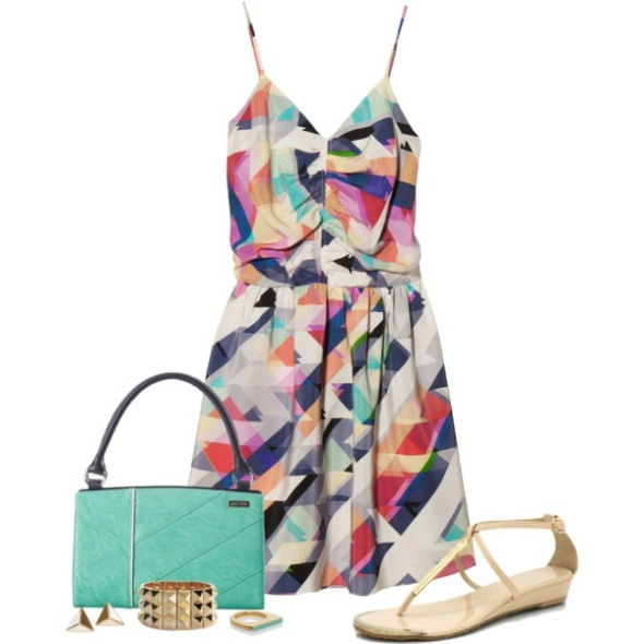 OUTFIT Style : Geometric Casual