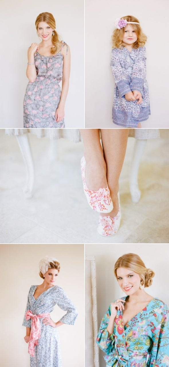 Flower Prints in everywhere from kids to a mommy style.