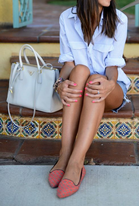 Classic Model shoes style combination.