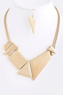 Geometric Metal Necklace