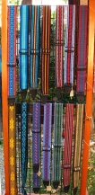 colorful guitar strap