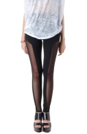 Mesh pannel legging