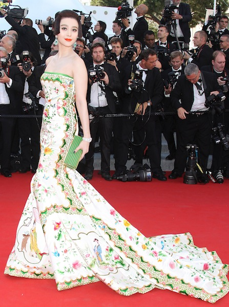 Fan BingBing 'Moonrise Kingdom' premiere at the Opening Ceremony of the 65th annual Cannes Film Festival Cannes, France.