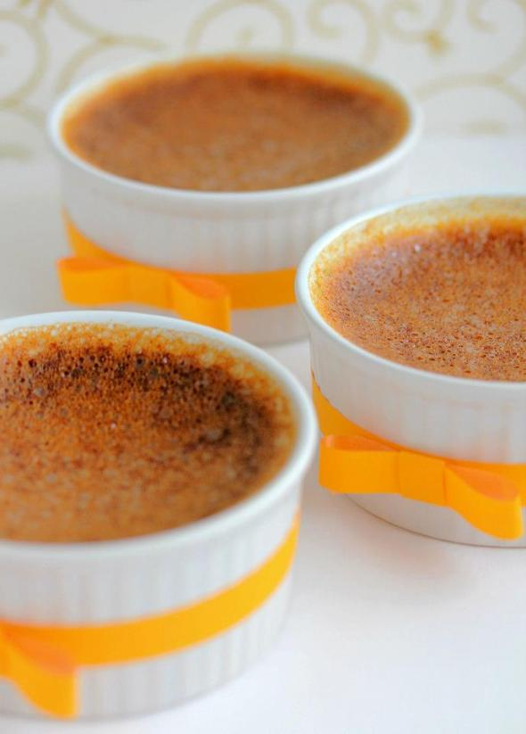 Low-carb Pumpkin Custard