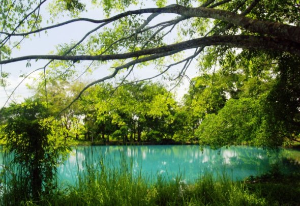 The Blue of Linting Lake, Deli Serdang - Medan.